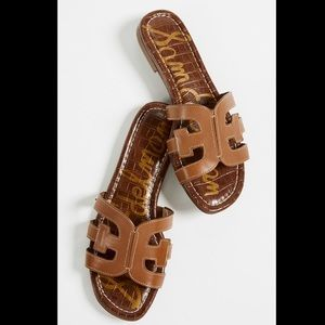 Sam Edelman Leather Slide Sandals